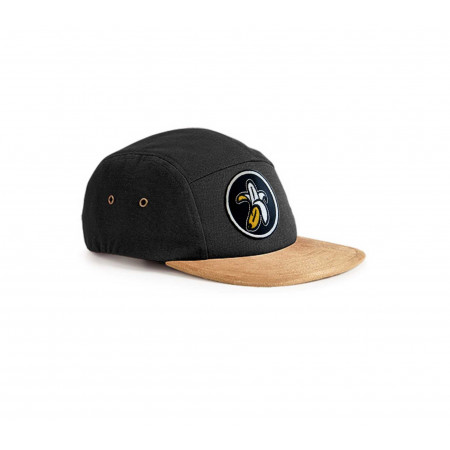 C658BK Gorra five panels